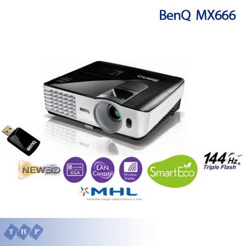 Máy chiếu BenQ MX666 -chungtamua.com