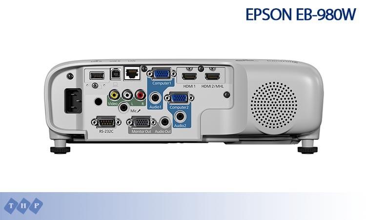 Epson EB-980W ket noi