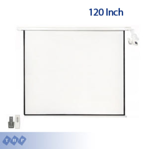 Màn chiếu điện 120 Inch (84×84)